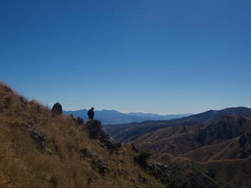 widoki pasterze góry wyspa południowa
