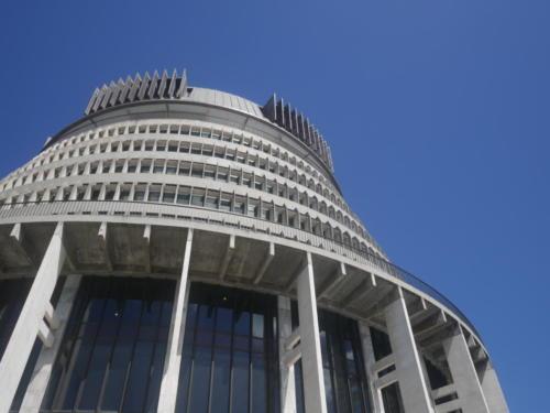 wellington parlament bee hive