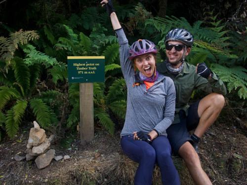 najwyższy szczyt timber trail